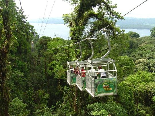 Sky Tram in Arenal