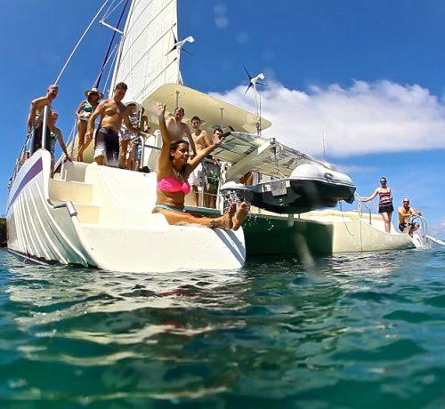 Catamaran Saling Tour